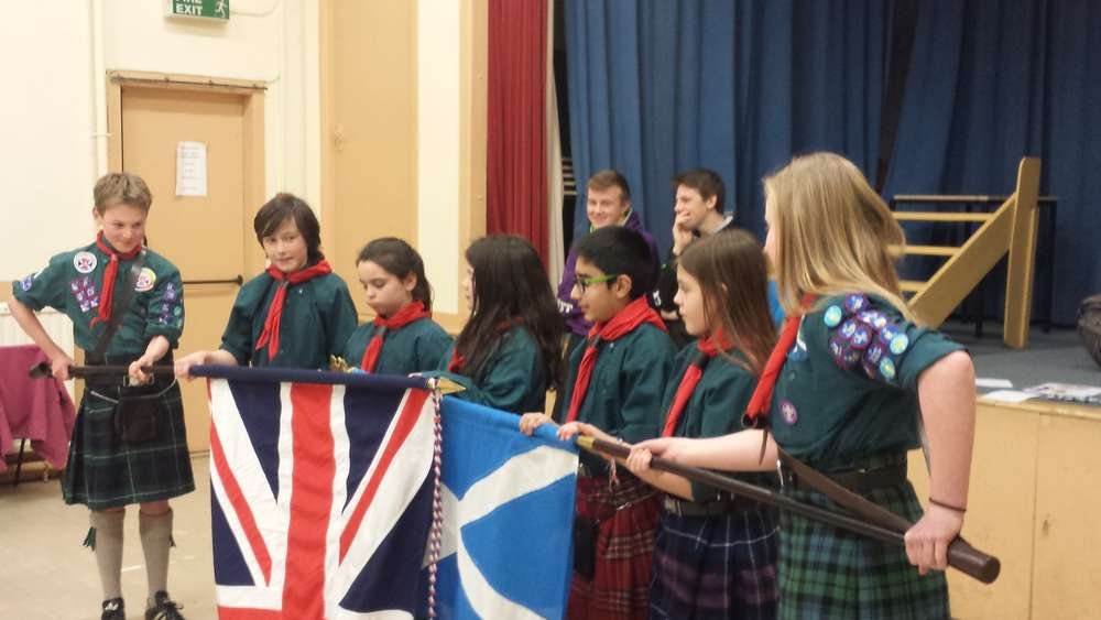 Scouts - Badges & Investitures