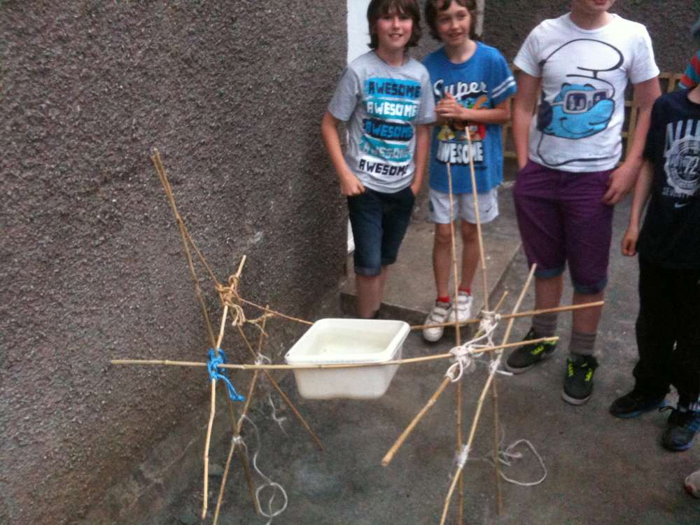 Scout Water Basin Pioneering Challenge