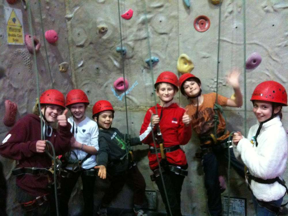 Scouts - Glasgow Climbing Center